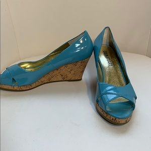 Colin Stuart blue wedges